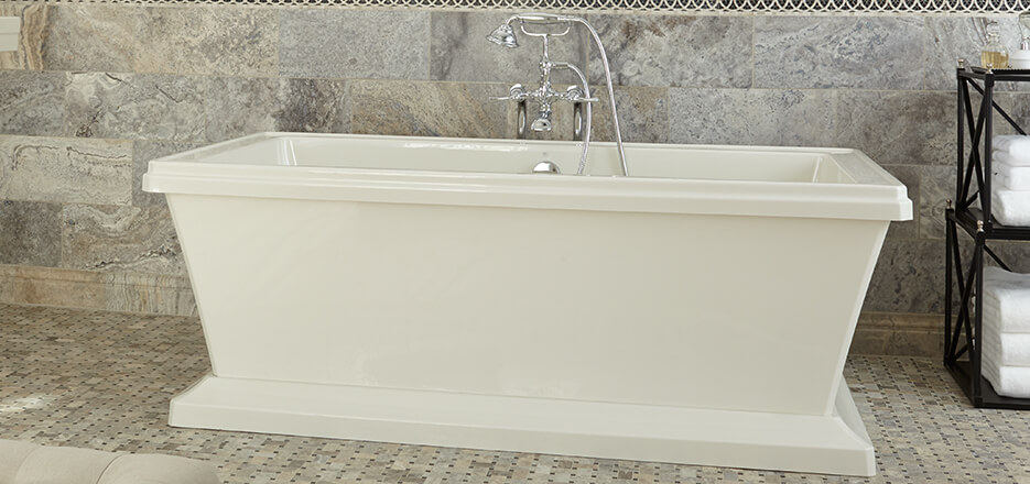 ... DXV Fitzgerald Collection Soaking Tub ...