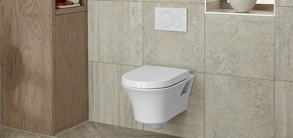 DXV Seagram Collection Wall Hung Toilet