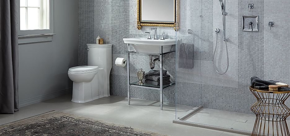 Wyatt Golden Era Bathroom Collection From Dxv