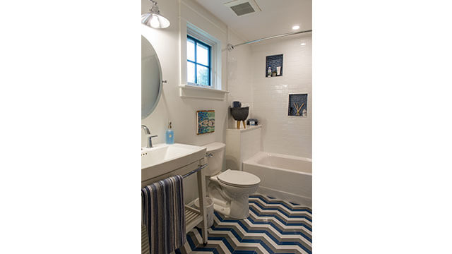 Bathroom Featuring American Standard Townsend Collection