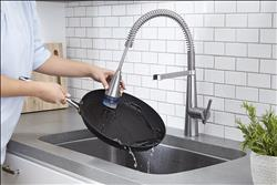 Edgewater collection of pull-down kitchen and bar faucets from American Standard